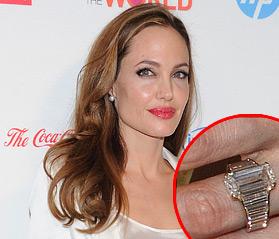 Trauringe der Angelina Jolie